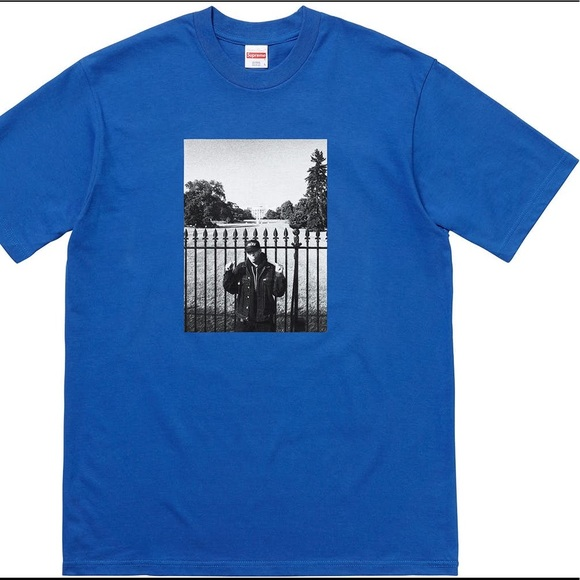 low priced 6e791 d14fc Supreme x White House x Undercover Tee, Blue